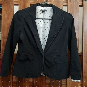 Metaphor black blazer